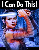 Rey Can Do It! by hugohugo
