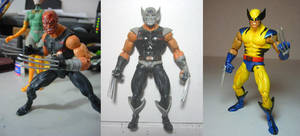wolverine custom action figure by hugohugo