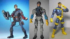 cyclops custom action figure by hugohugo