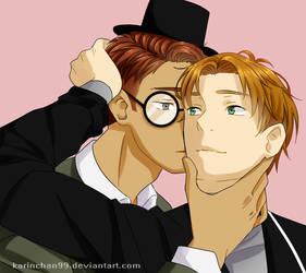 Gregg and Angus human ver by MisaKarin