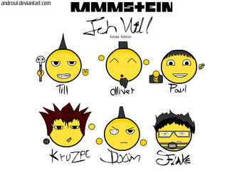 Rammstein-Ich Will Emote Edit. by haus-of-rammstein