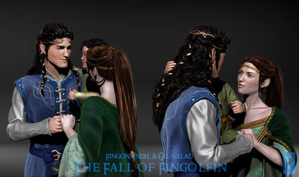 Fingon's Family 3D Concept - Detail by Breogan