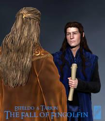 Royal Councillor Tarion - 3D Concept by Breogan