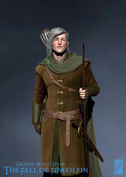 Galador, Scout Captain - 3D Detail by Breogan