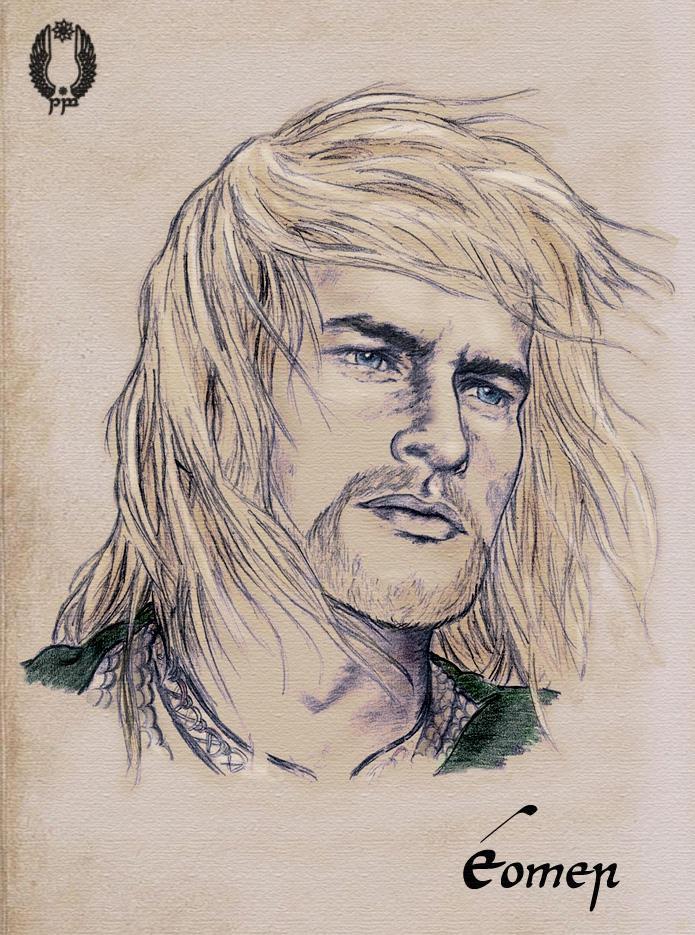 Eomer of Rohan by Breogan