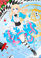 Alice Through The Looking Glass by Seiraphyna