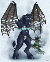 Winged Death by Korrok