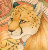 Golden Cheetah by Korrok