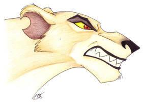 Snarling Zira by Korrok