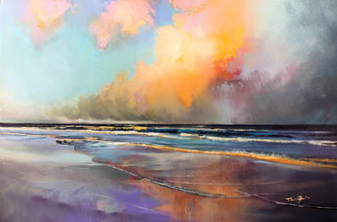 Myrtle Beach Evening Clouds  by LS-1302