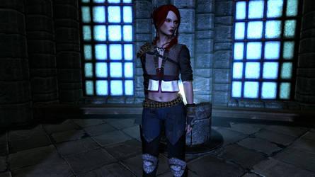 Kayli - The Witcher AU by Shippo3313