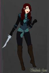 Kayli Cousland - New Outfit by Shippo3313
