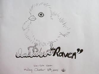Inktober Raven by Elleiancole