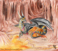 Dragon Cave by Aeritus91