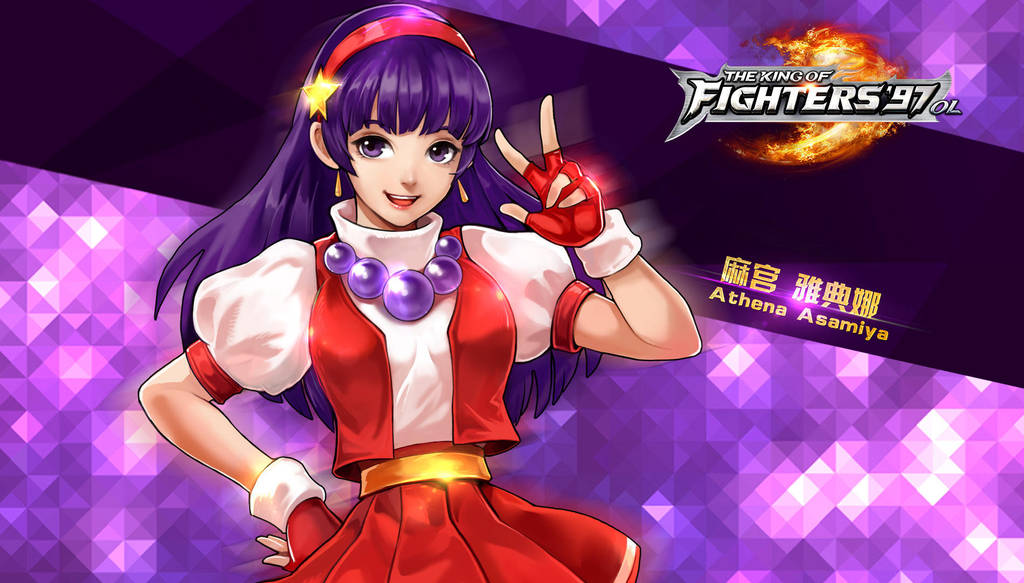 Athena Asamiya Kof97 Ol Hd Wallpaper By Zeref Ftx On Deviantart