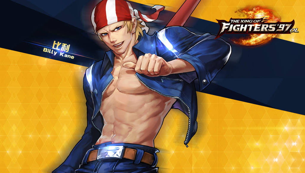 Billy Kane Kof97 Ol Hd Wallpaper By Zeref Ftx On Deviantart