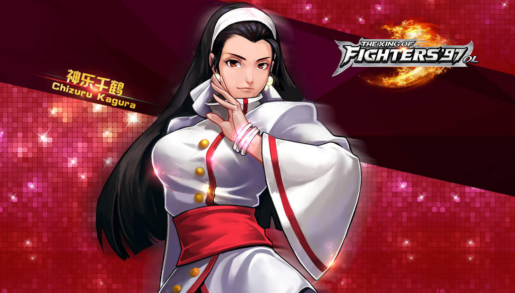 Chizuru Kagura Kof97 Ol Hd Wallpaper By Zeref Ftx On Deviantart