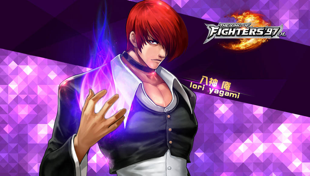 Iori Yagami Kof97 Ol Hd Wallpaper By Zeref Ftx On Deviantart