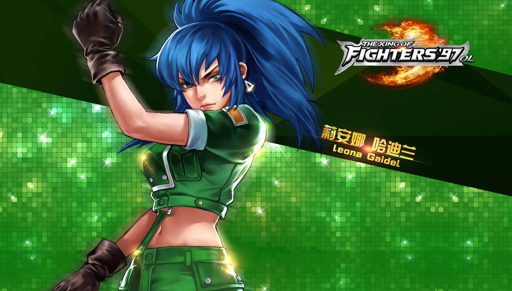 Leona Heidern Kof97 Ol Hd Wallpaper By Zeref Ftx On Deviantart
