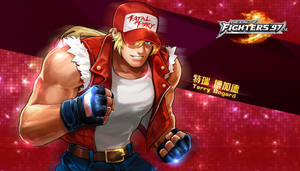 Terry Bogard - KOF'97 OL HD Wallpaper by Zeref-ftx