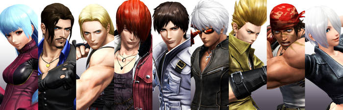 The King of Fighters XIV - Characters by Zeref-ftx