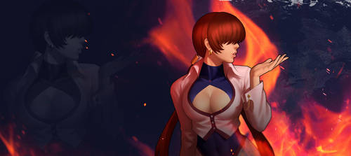 Shermie - KOF'98 OL Wallpaper by Zeref-ftx