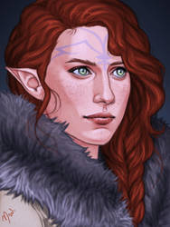 Angharad Lavellan by Merwild