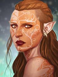 Amon Lavellan by Merwild