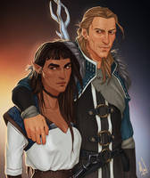 Apostates and Grey Wardens by Merwild