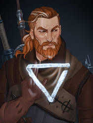 Witcher Heryn by Merwild