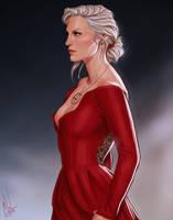 Celaena's dress by Merwild