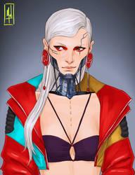 Cybergirl by Merwild