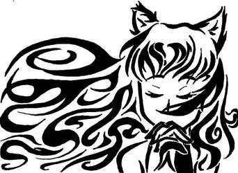 7. Black Wolfgirl by NekoMimiAlice