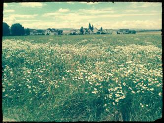 flower skyline by NekoMimiAlice