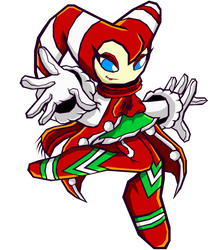 Christmas NiGHTS - Sonic Battle by Cerberean