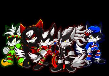 Christmas Jackal Squad by Cerberean