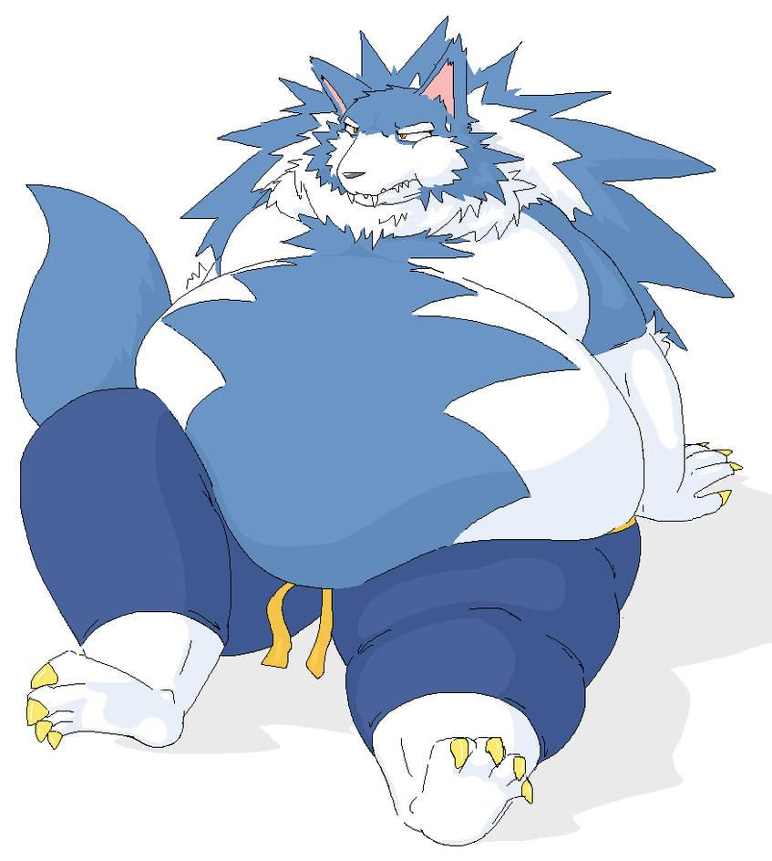 Fat John Talbain Gallon By Ampleanthroclub On Deviantart
