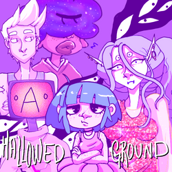 Hallowed Ground:A visual novel in progress by PsychoInABox