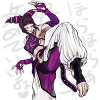 STREAT FIGHTER 4  Juri Han by JP-909