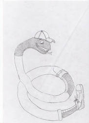 Snake boy by Ananisapta