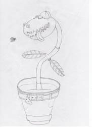 Mercury-flytrap boy by Ananisapta