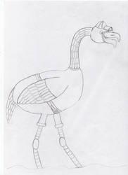 Flamingo Boy by Ananisapta