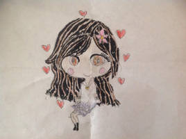 Rosa Chibi drawing by CPLover4ever