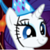 Rarity party hat icon by CPLover4ever