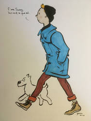 Tintin by MBloodriver
