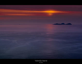 Sunset at Puffin Island by oggie85