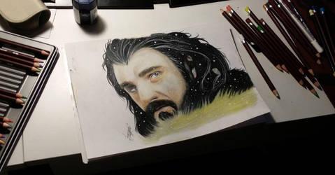 Thorin Oakenshield by Haiymi