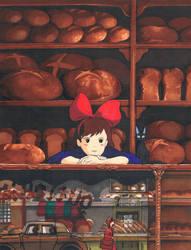 Kiki la petite sorciere by avecmonpinceau