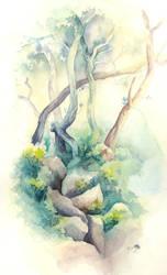 Vegetal by avecmonpinceau