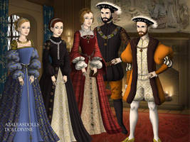 Charles V and Family by TFfan234